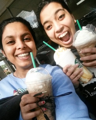 starbucks and friends